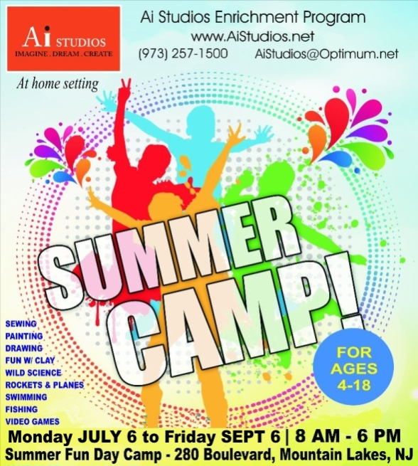 Ai Studios Summer Camp 2020 Flyer